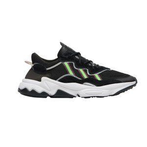Adidas Originals Mens Ozweego Shoes Black/Solar